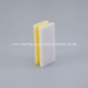 Padschwamm gelb/weiß, 15,0 x 7,0 cm