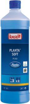 "BUZIL ""Planta Soft"", ökologischer Oberflächenunterhaltsreiniger, türkisblau, 1 Liter Flasche"