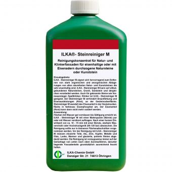 +gratis Mikrofasertuch ILKA®-CHEMIE Steinreiniger M für Natur- und Klinkerfassade - 1 Liter