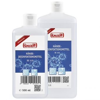Gebrauchsfertiges Händedesinfektionsmittel SE 110 von Buzil